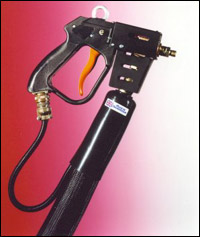 Hot Melt Heated Hoses and Hand Guns for Sealed Units